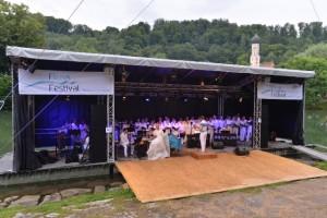 Carmina Burana beim Flussfestival in Wolfratshausen